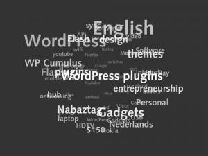 Облако тегов для WordPress